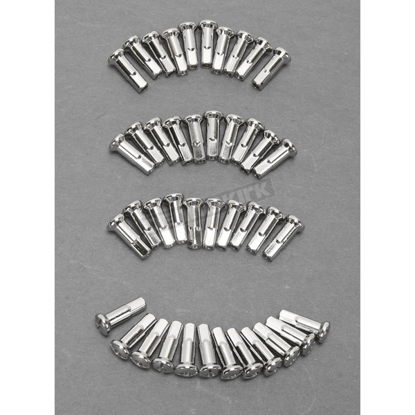 Extra Long Chrome Nipples for Drag Specialties Spoke Sets - DS-380106