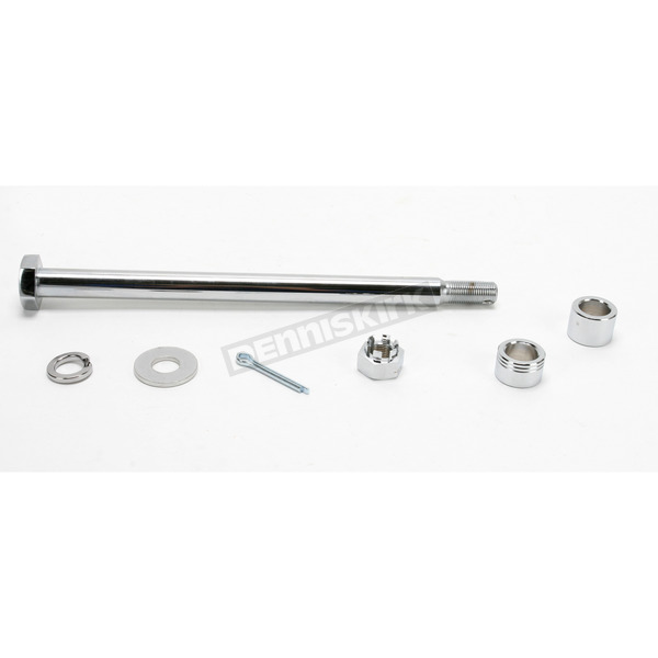 Drag Specialties Chrome Axle Kit - DS-223044