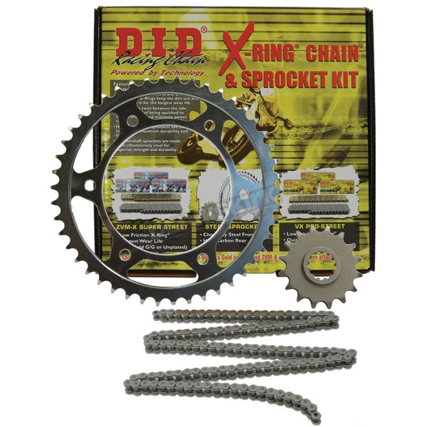 DID VX2 X-Ring Chain and Sprocket Kit - DKK-012