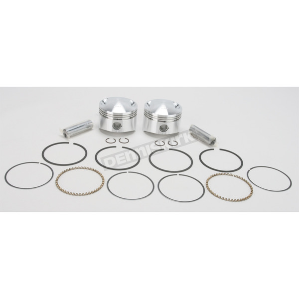 Wiseco High-Performance Forged Piston Kit - 3.537 in. Bore/7:1 Ratio - K1617