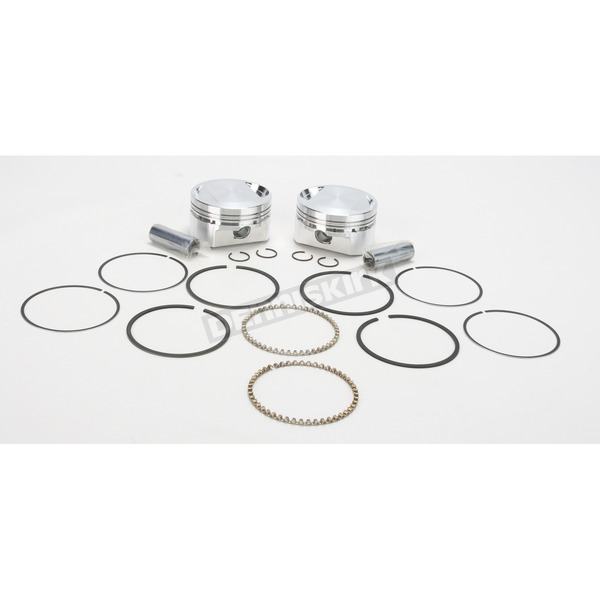 Wiseco High-Performance Forged Piston Kit - 3.508 in. Bore/10.5:1 Ratio - K1686