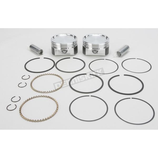 Wiseco High Performance Forged Piston Kit w/X-Rings - K1723
