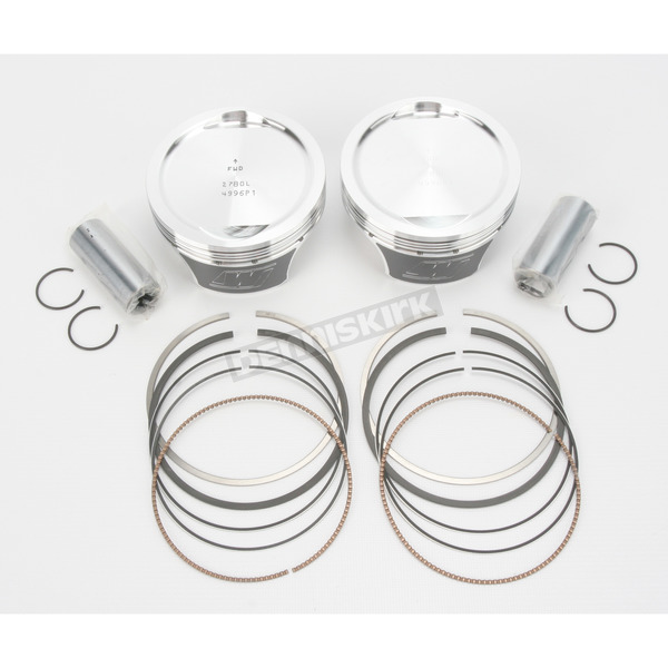 Wiseco High-Performance Forged Piston Kit - 3.885 in. Bore/9:1 Ratio - K2753