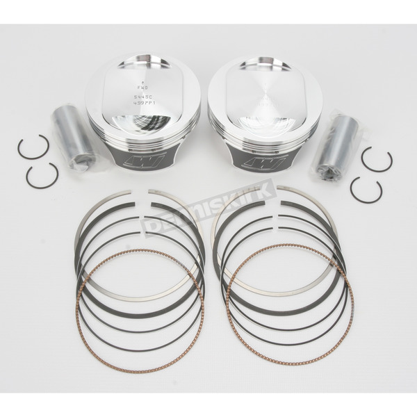 Wiseco High-Performance Forged Piston Kit - 3.885 in. Bore/10.5:1 Ratio - K2756