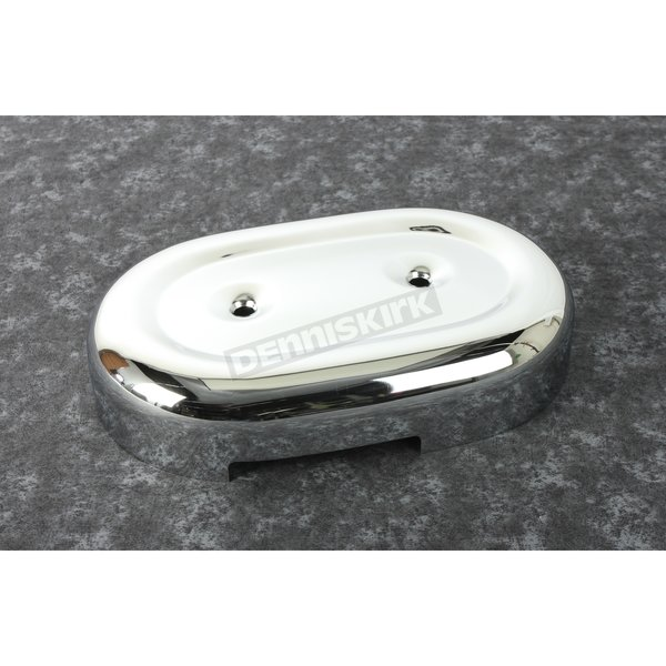 Chrome 2-Bolt Oval Air Cleaner Cover - 29084-73