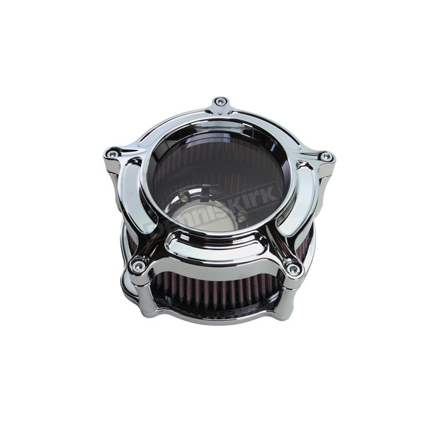 Roland Sands Design Chrome Clarian Air Cleaner Kit - 0206-2127-CH