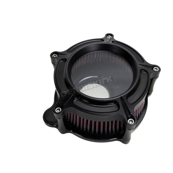 Roland Sands Design Black OPS Clarian Air Cleaner Kit - 0206-2128-SM