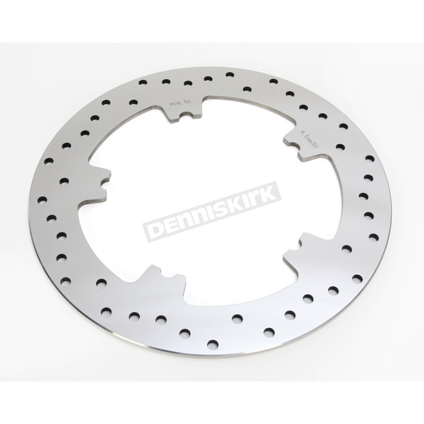 Drag Specialties Front 11.8 in. Polished Stainless Steel Brake Rotor - 1710-3155