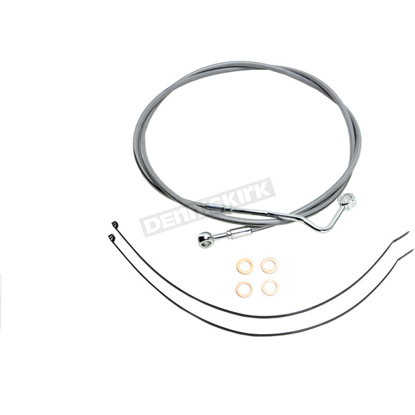 Magnum Natural XR Stainless Extreme Response Upper Brake Line Kit - +6
