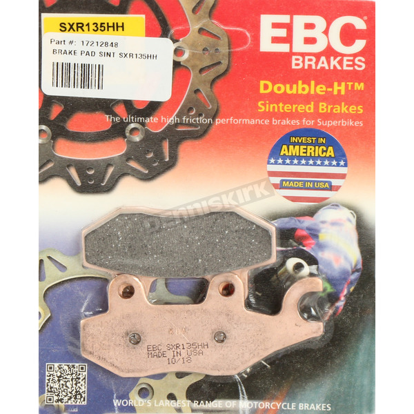 SXR Side By Side Race Fomula HH Sintered Brake Pads - SXR135HH