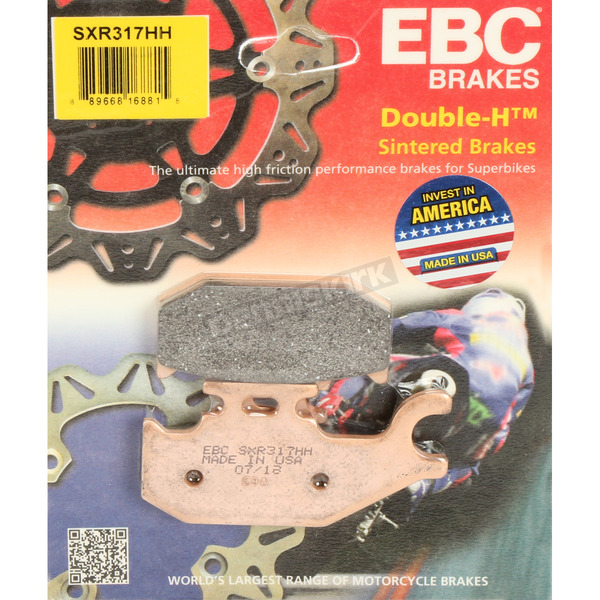 SXR Side By Side Race Fomula HH Sintered Brake Pads - SXR317HH