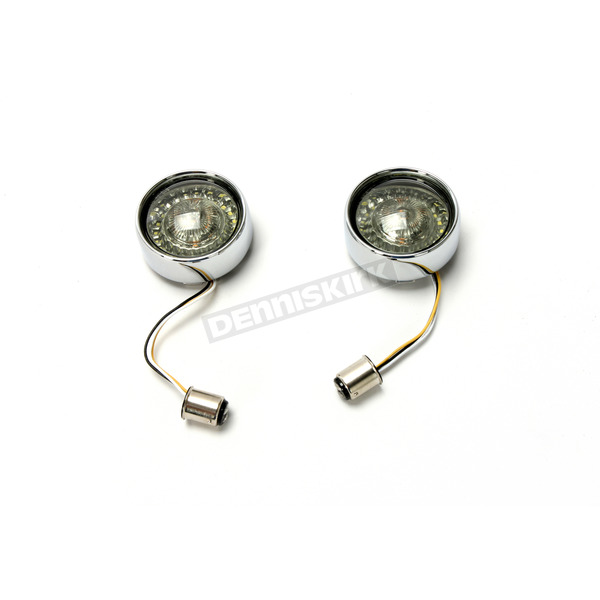 Chrome ProBeam Bullet Bezel Dynamic Ringz LED Turn Signal w/Smoked Lens - PB-BB-AW-1157CS