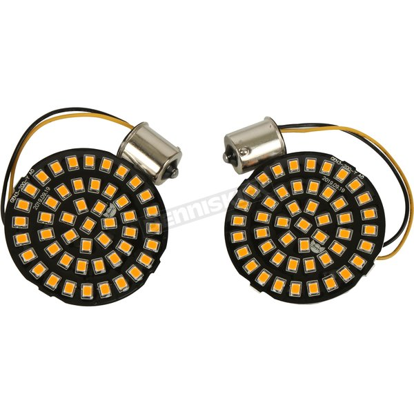 1156 Bullet-Style Rear Dual Ring Turn Signal Inserts - 2020-1809