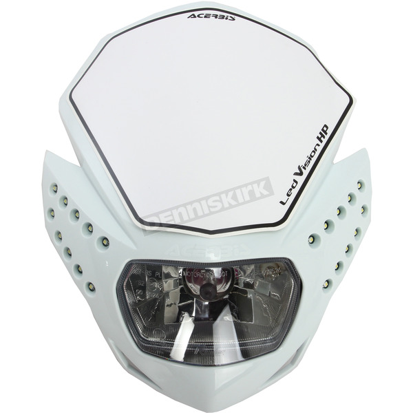 Acerbis White LED Vision Headlight - 2144210002