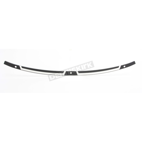 Klock Werks Black Contrast Flare Series FLW Windshield Trim - 2350-0321