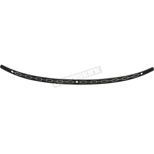 Memphis Shades Black Contrast Chain Windshield Trim - MEB0944