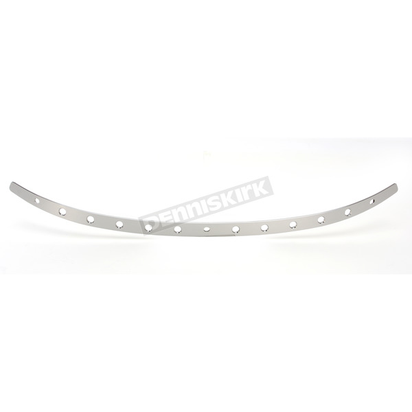 Memphis Shades Polished Holes Windshield Trim - MEM0976