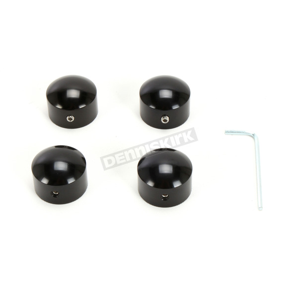 Gloss Black Die-Cast Headbolt Covers - 2401-1046