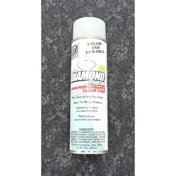 Satin Clear Diamond Finish Top Coat - 8124