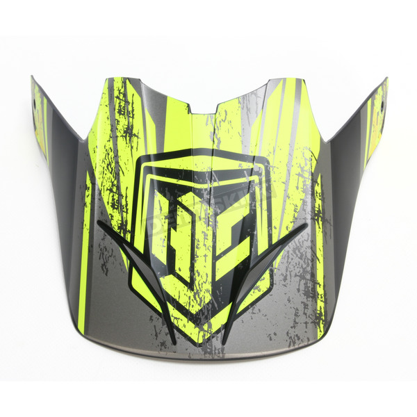 HJC Hi-Vis Green/Black Visor for HJC CS-MX 2 Squad Helmets - 60-4032C