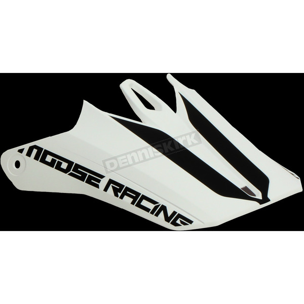 White/Black F.I. Session Replacement Visor - 0132-1262