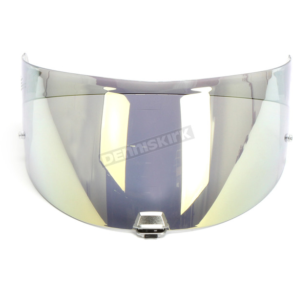 Gold Mirror HJ-29 RST-Coated Shield w/Pinlock Pins for RPHA-90 Helmets - 0908-9413-00