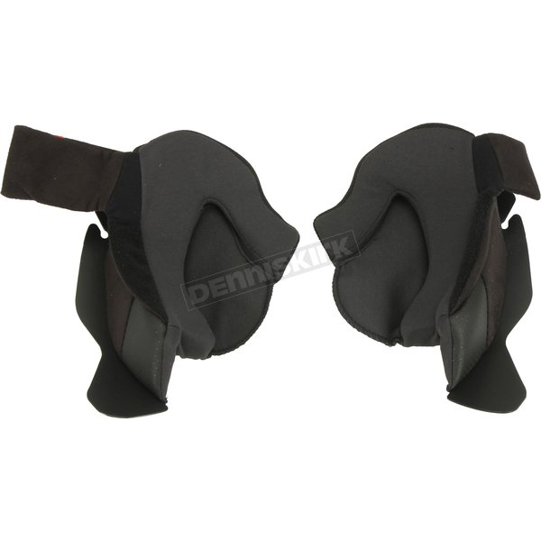 Black Cheek Pads for i90 Helmets - 1612-021