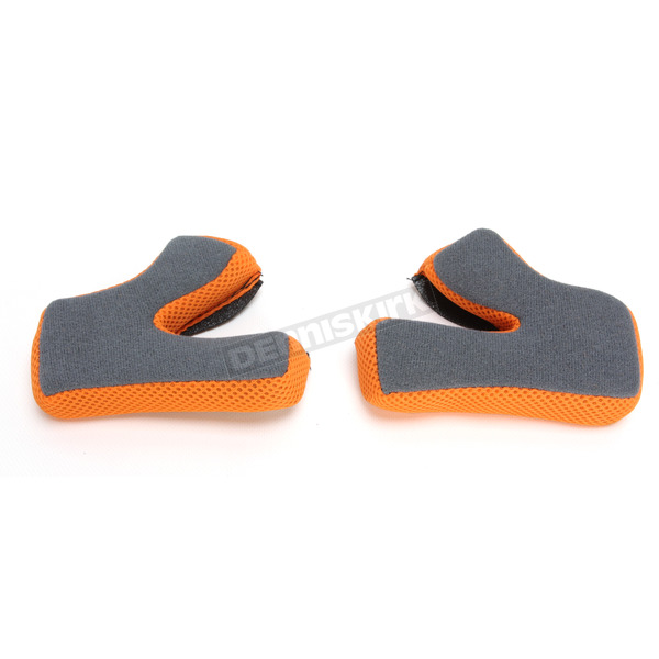 AFX Orange FX-17 Cheek Pads - 0134-1828