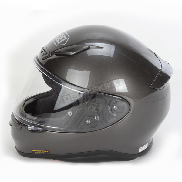 Shoei Helmets Anthracite Metallic RF-1200 Helmet - 0109-0117-03