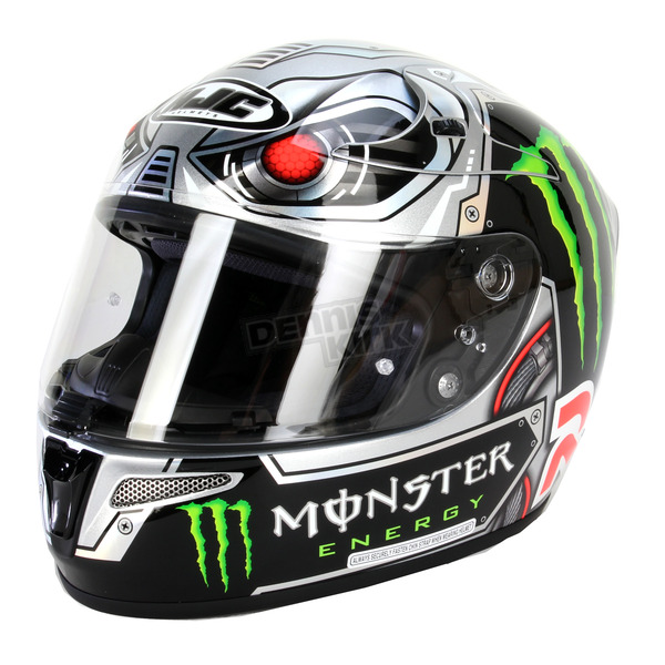 HJC Black/Gray RPHA 10 Speed Machine Helmet - 1596-956