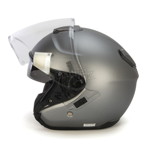 Shoei Helmets Matte Deep Gray J-Cruise Helmet - 0130-0137-06