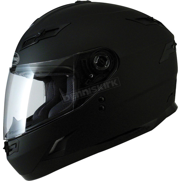 GMax Black GM78S Full Face Helmet - 72-49012X