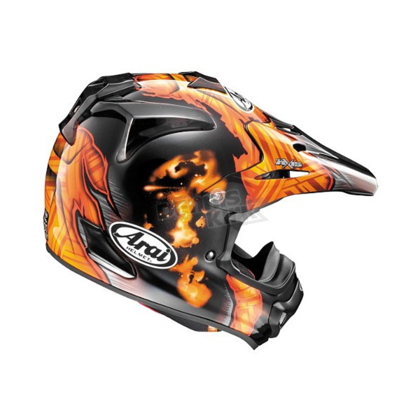 Arai Helmets Orange/Black VX-Pro 4 Barcia Helmet - 814615