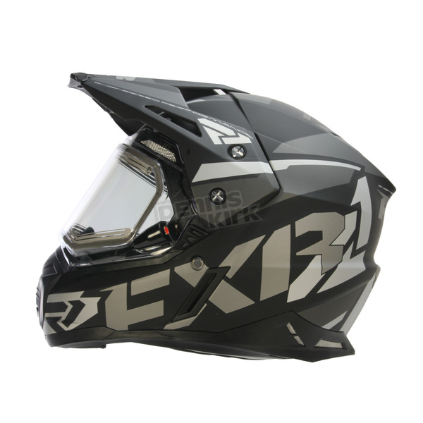 FXR Racing Black Ops FX-1 Team Helmet w/Electric Shield - 170609-1010-16
