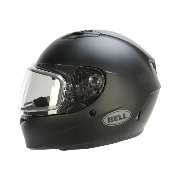 Bell Helmets Matte Black Qualifier Snow Helmet w/Dual Lens Shield  - 7076069