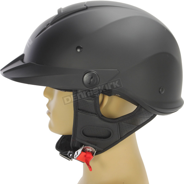 LS2 Matte Black Rebellion Helmet - 590-1015