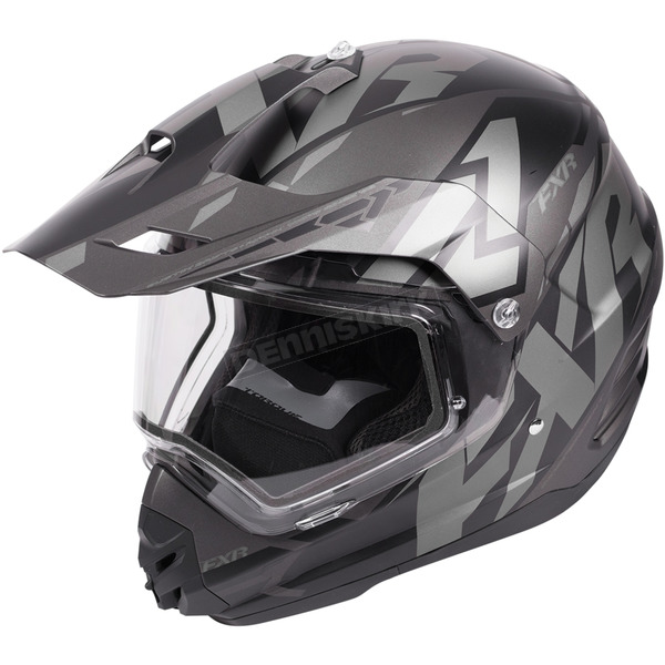 FXR Racing Black Ops Torque X Core Helmet w/Electric Shield - 180610-1010-13