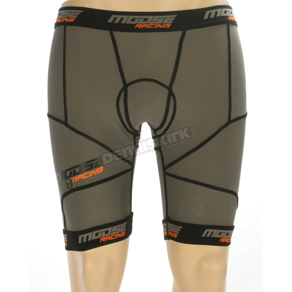 Moose Black XC1 Base Shorts - 2940-0251