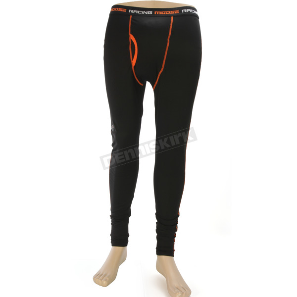 Moose Black XC1 Base Pants - 2940-0266