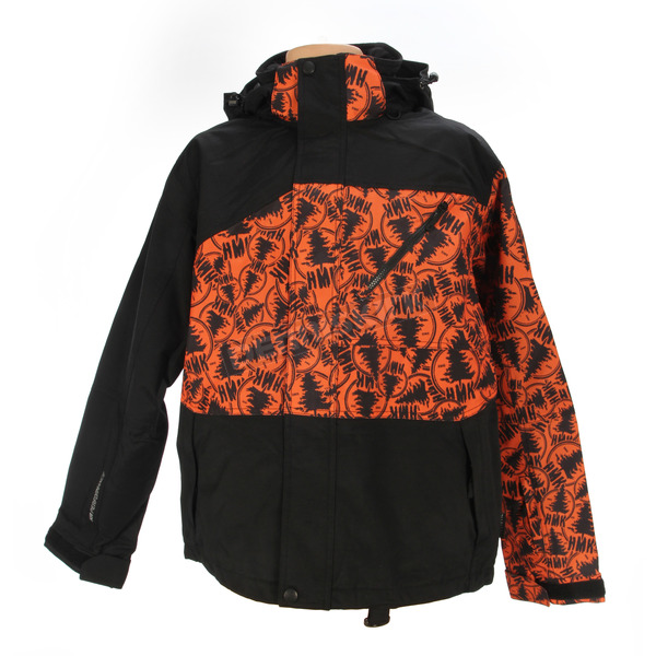 HMK Stamp Orange Hustler 2 Jacket - HM7JHUS2BSO3