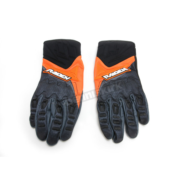 Icon - Raiden UX Orange/Black Gloves - 3301-2744