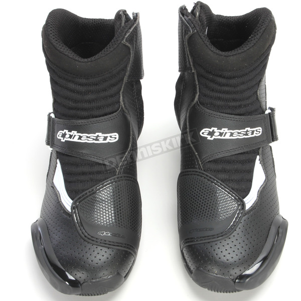Alpinestars Black/White Vented SMX-1R Boot - 2224016-12-40