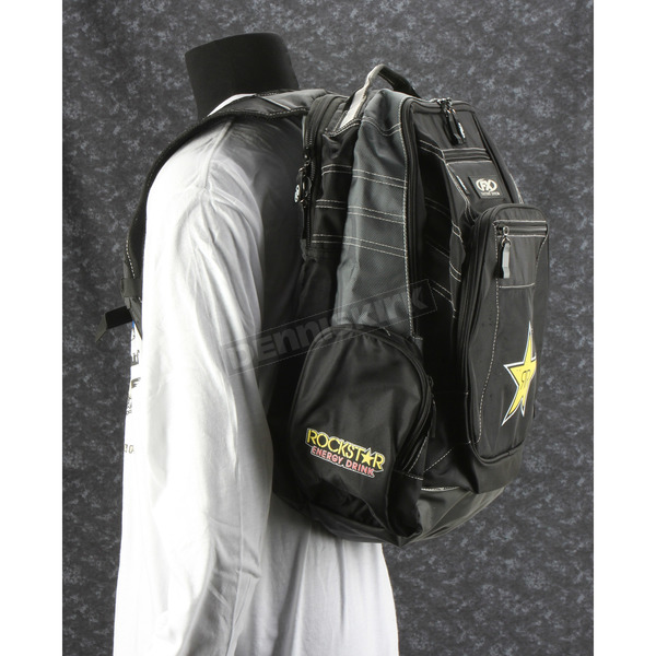 Gray/Black Rockstar Backpack - 18-88698