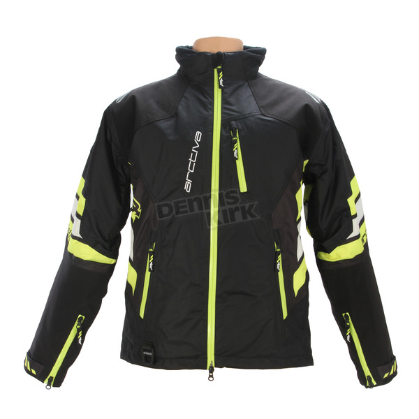 Arctiva Black/Hi-Vis Yellow Mechanized Insulated Jacket - 3120-1561