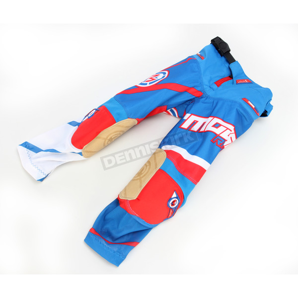 Moose Youth Red/White/Blue M1 Pants - 2903-1494