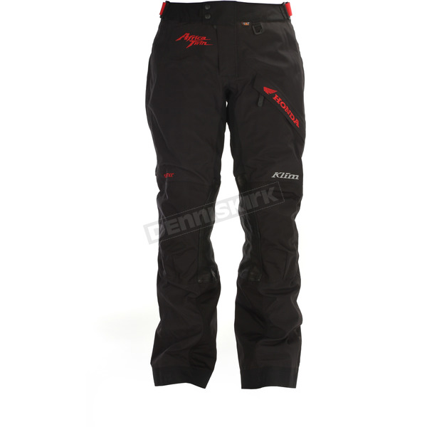 Klim Honda Black/Red Latitude Pants - 5147-002-234-100