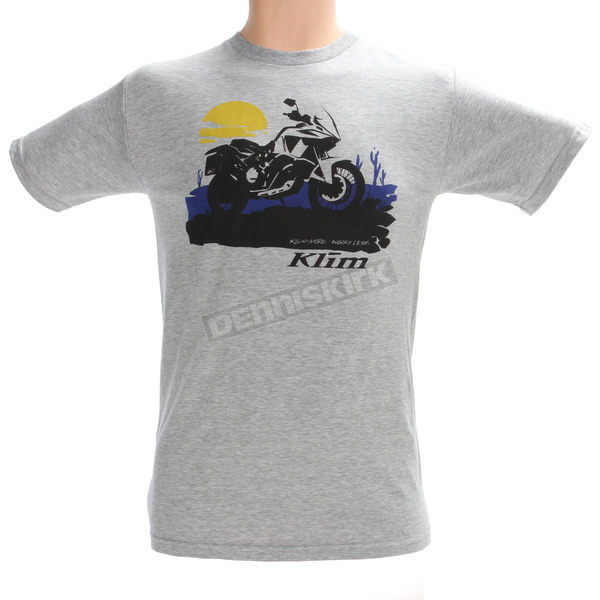 Klim Gray Sunrise Adventure T-Shirt - 3904-000-160-600