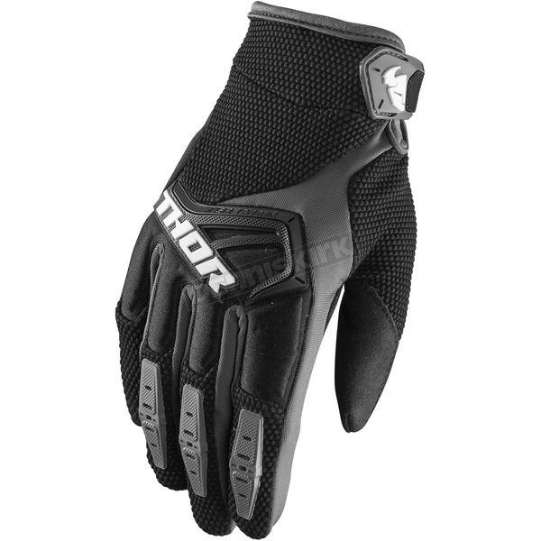 Thor Black Spectrum Gloves - 3330-4626