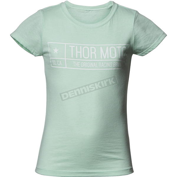 Thor Girls Mint Establish Tee Shirt - 3032-2651