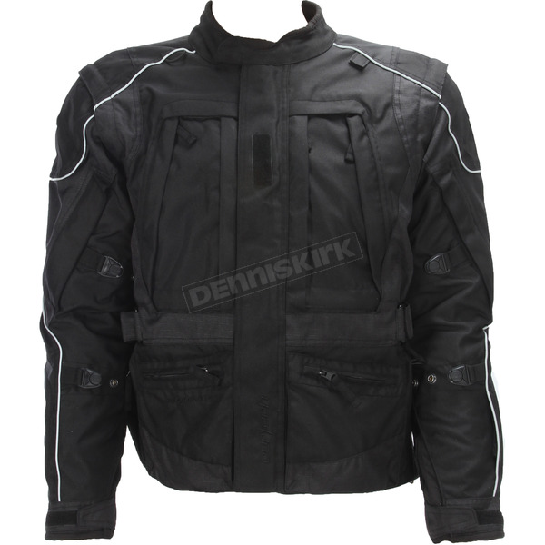 Cortech Black Sequoia XC Jacket - 8920-0005-15